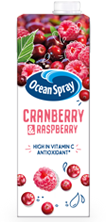Cranberry and Raspberry Juice Drink