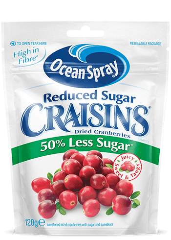 Craisins® Original 50% Less Sugar Dried Cranberries