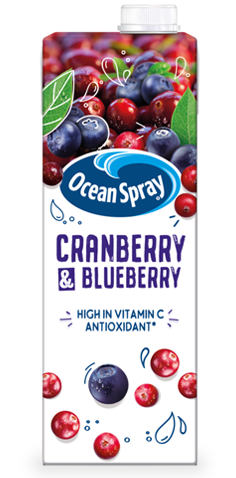 Cranberry & Blueberry Juice Drink
